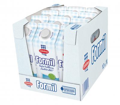 Formil Haltbarmilch Haltbar Leichtmilch 05 Fett Hausfreund